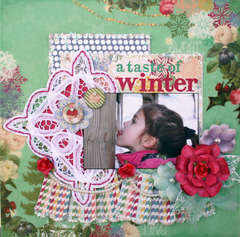 A Taste of Winter **My Creative Scrapbook**