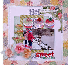 Sweet Snacks **My Creative Scrapbook**