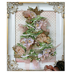 Frame Christmas Tree with Video Tutorial **Prima**