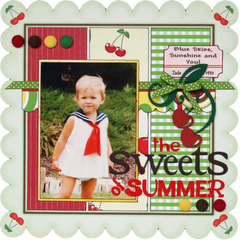 Sweets of Summer **Scrapbooking and Beyond**