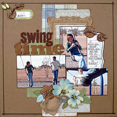 Swing Time **Scrapbooking and Beyond**