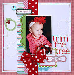 Trim the Tree  **Scrapbooking and Beyond**