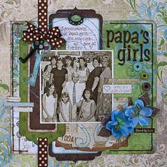 Papa's Girls  **Bo Bunny**
