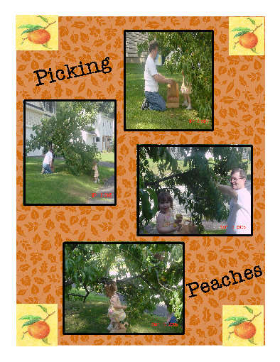 Pickin Peaches with  My Panky 2005