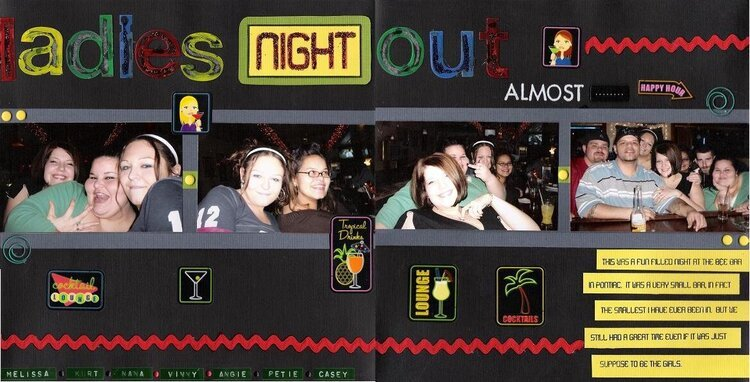Ladies Night Out  ALMOST