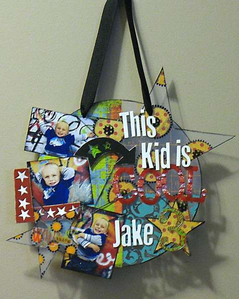 This Kid is Cool Wall Hanging