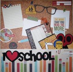 3 of 52:  I {heart} school