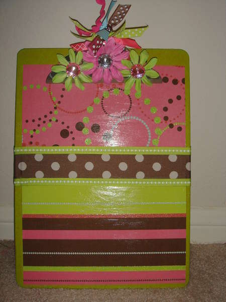 Girly Clipboard