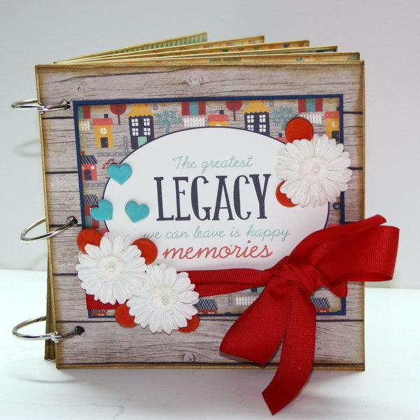 Legacy Album ~My Creative Scrapbook DT~