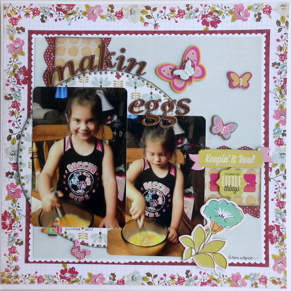 Makin Eggs ~My Creative Scrapbook~