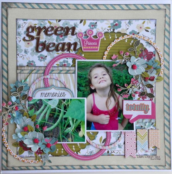 Green Bean Princess ~My Creative Scrapbook DT~