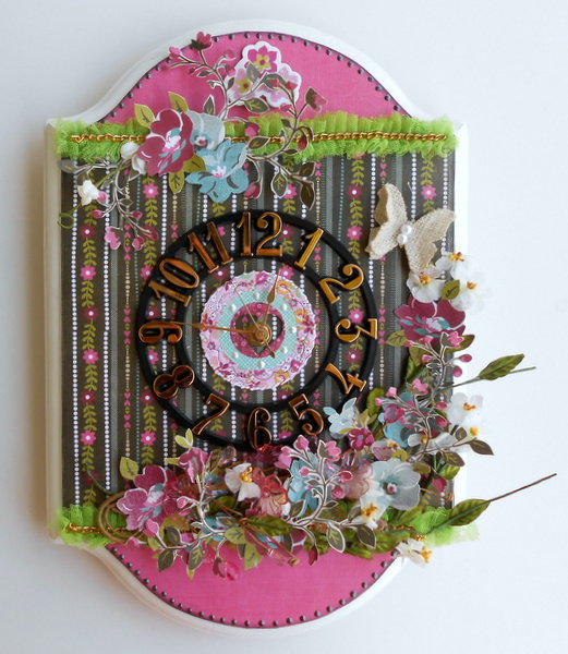 Altered Clock ~My Creative Scrapbook DT~