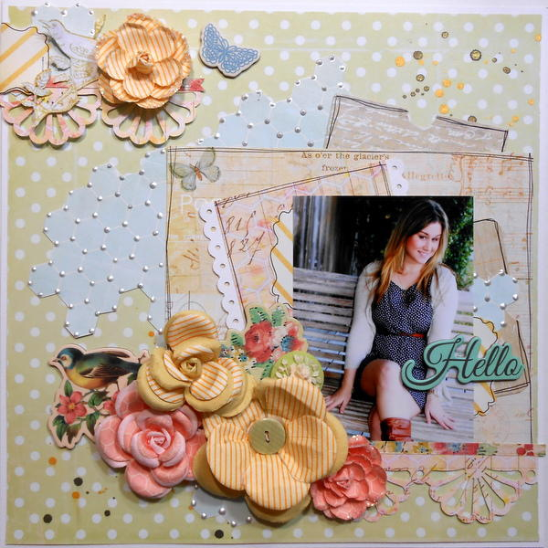 Hello ~My Creative Scrapbook DT~