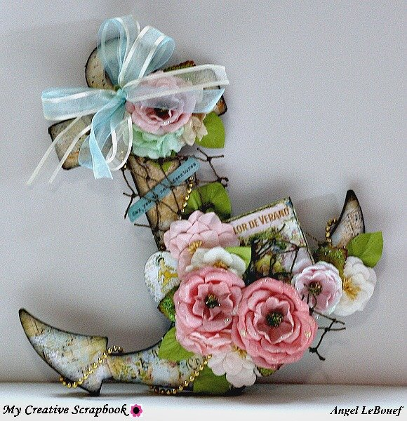 Altered Anchor ~My Creative Scrapbook Dt~