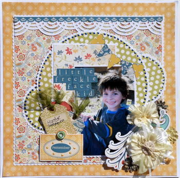 Little Freckle Face Kid ~My Creative Scrapbook DT~