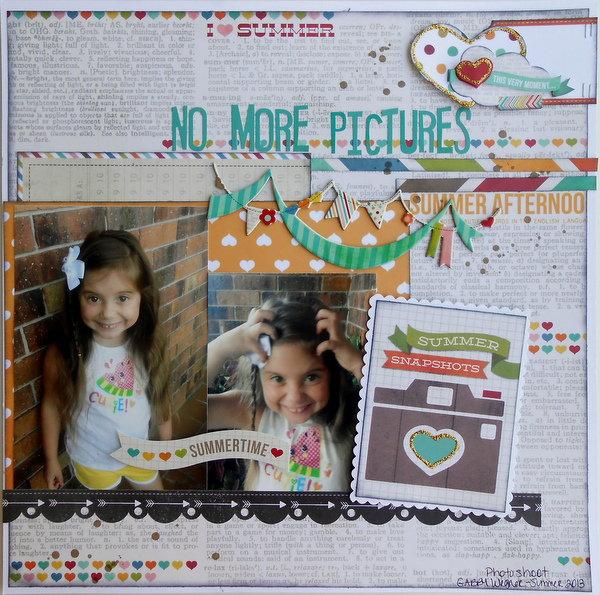 No More Pictures ~My Creative Scrapbook DT~