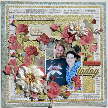 A Perfect Day ~ My Creative Scrapbook Dt~