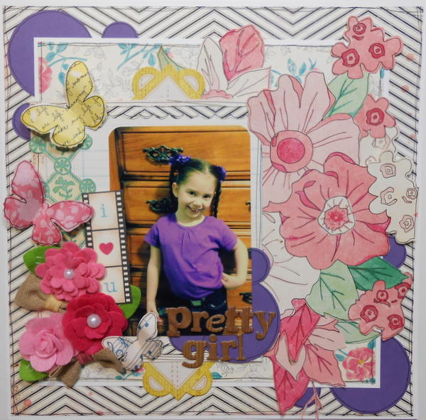 Pretty Girl ~My Creative Scrapbook DT~