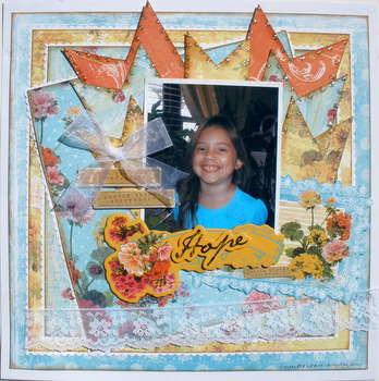 Hope ~My Creative Scrapbook DT~