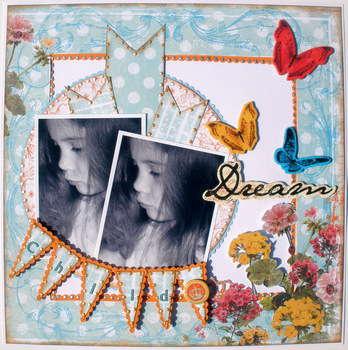 Dream ~ My Creative Scrapbook Dt~
