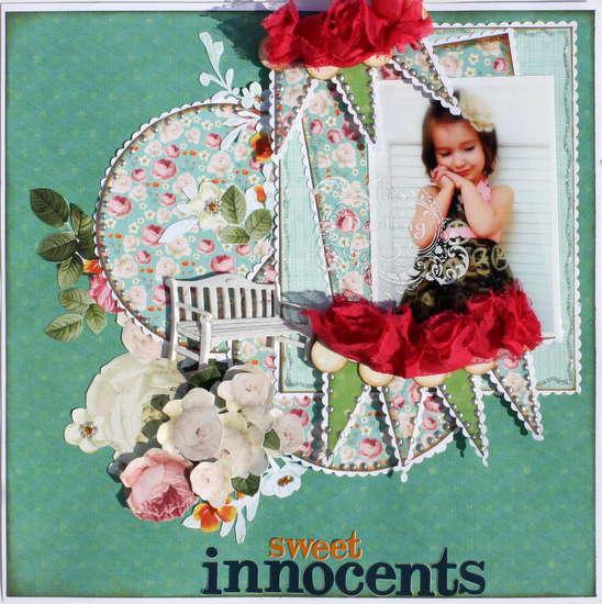 Sweet Innocents ~My Creative Scrapbook DT~