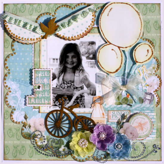 The Sky is the Limit~My Creative Scrapbook DT~