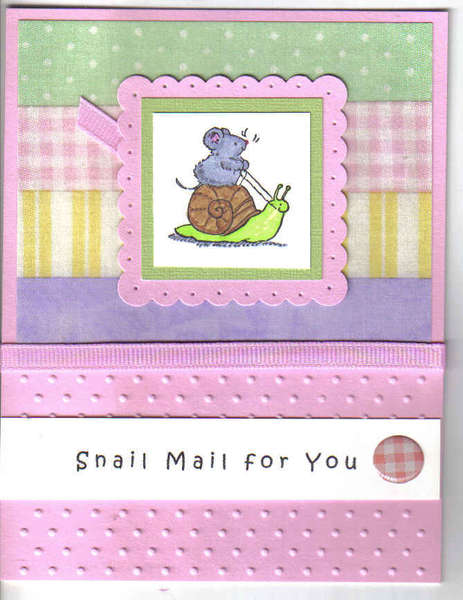 Snail Mail For You!