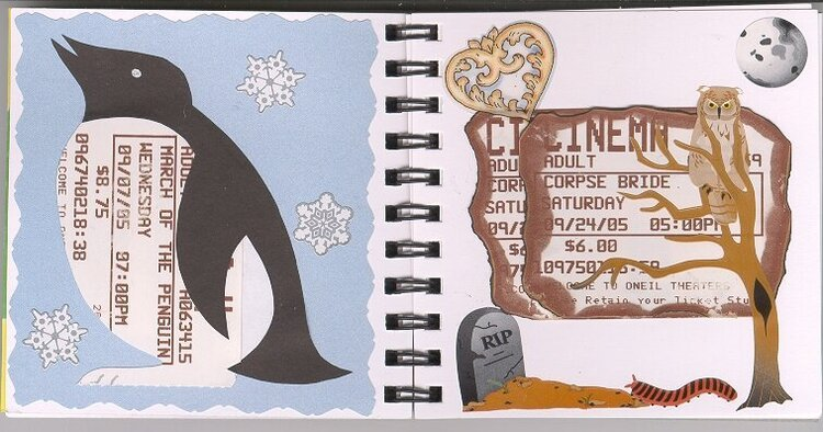 March of the Penguins & Corpse Bride