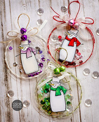 Christmas Shaker Ornaments