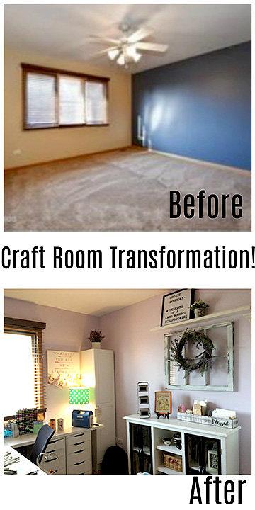 My Craft Room Transformation!