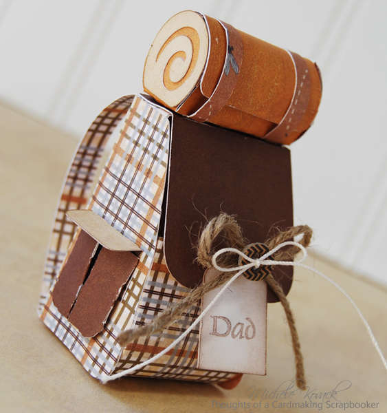Back Pack Gift Card Holder
