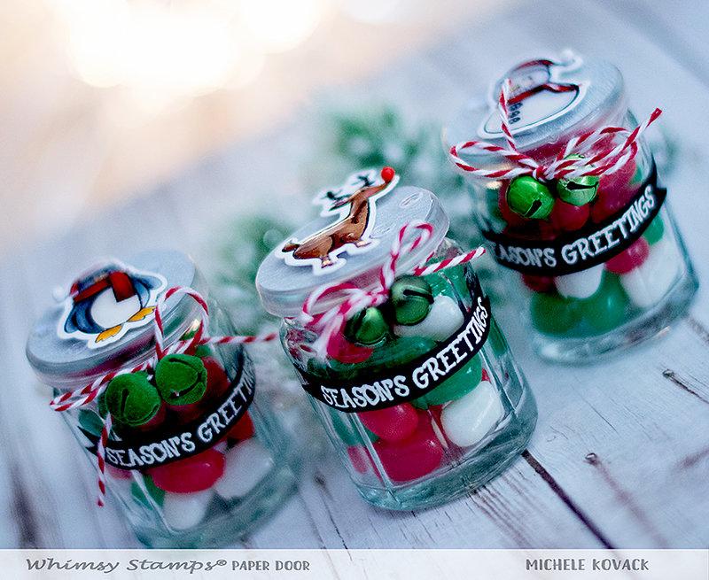 Christmas Candy Jars!