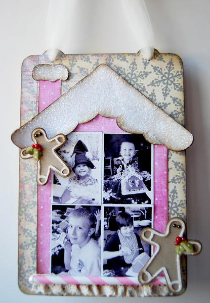Gingerbread House Wall Hanging