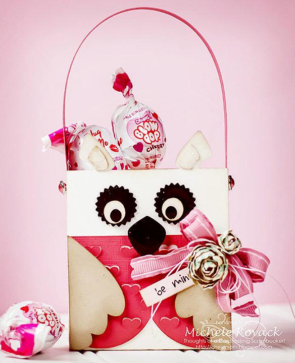 Valentine Owl Treat Bag