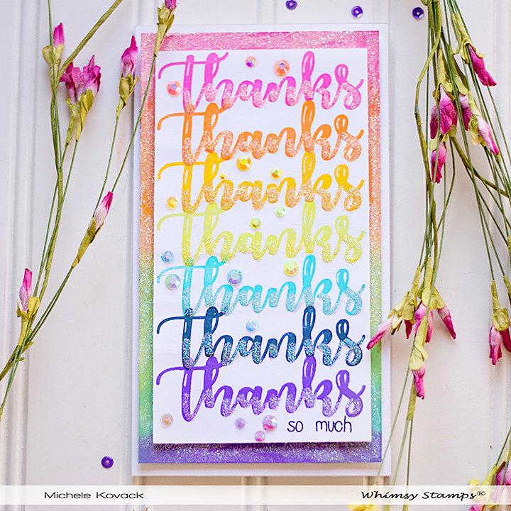 Rainbow of Thanks!