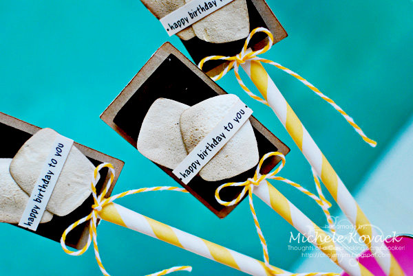 S'More Cupcake Toppers!