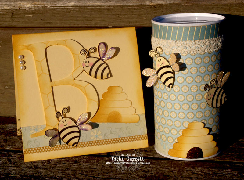 Bee is for Baby Card