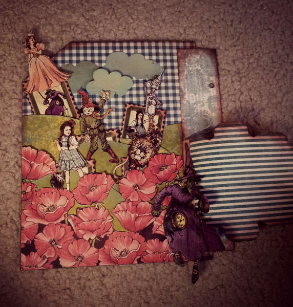 Magic of oz mini album page