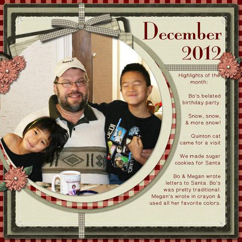 December 2012 LHS