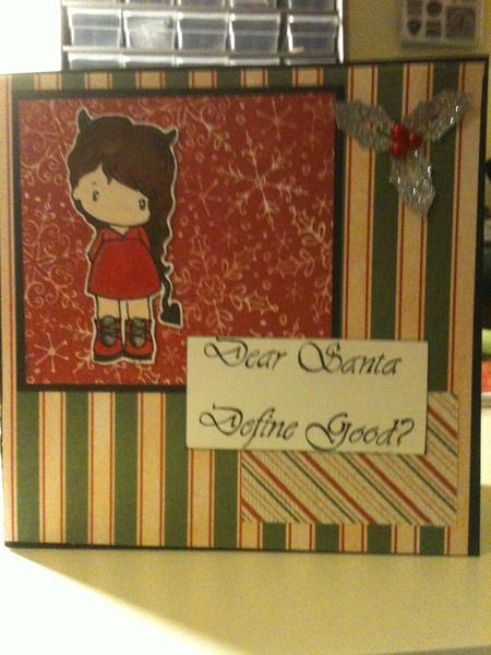 Dear Santa, define good?