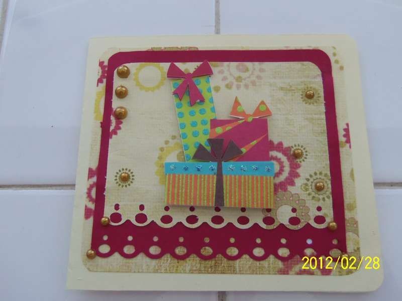 Birthday card cuts
