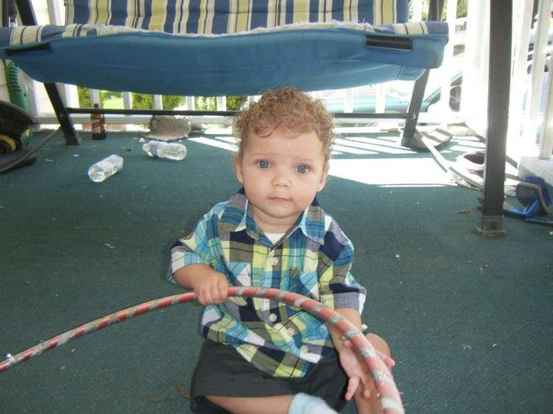 Hula Hoop Baby