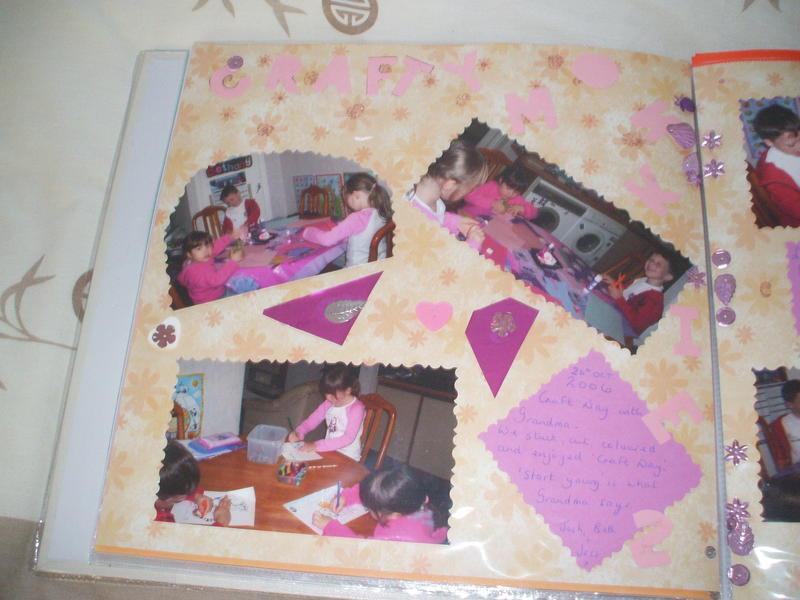 craft day at Grandmas 2006