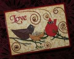 Retro Bird Card by Joe Morgan