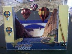 Lake Powell Dam Air Balloon Regetta