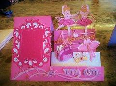 Ballerina Frame Card