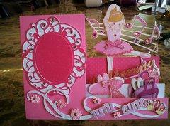 Ballerina Frame Card 2