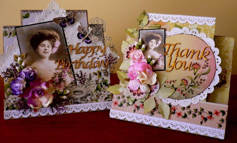 Thank you & Birthday card