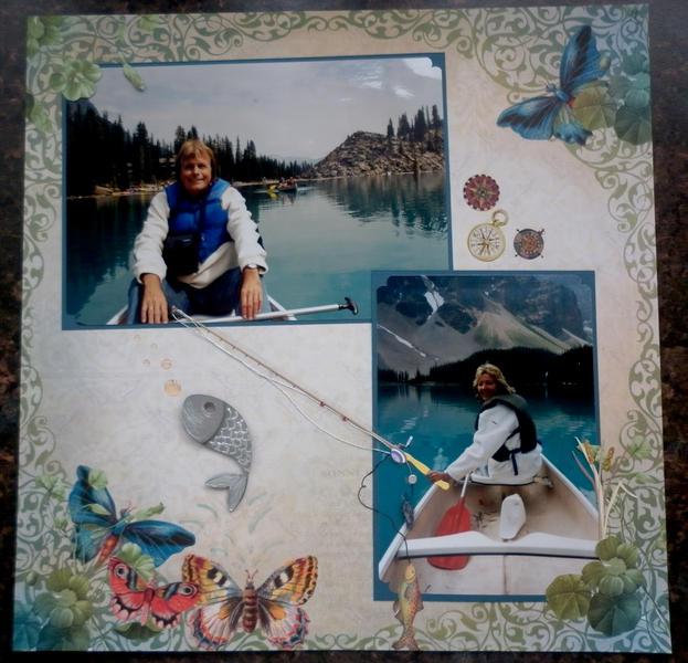 A trip on Lake Louise