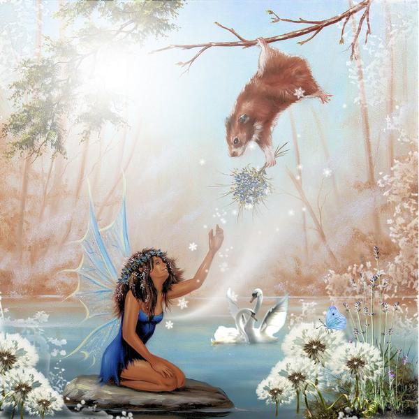 Water fairie